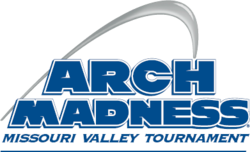 2016 Missouri Valley Arch Madness Tournament Logo