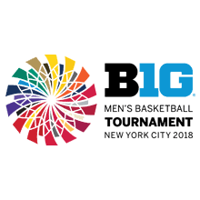 2018 Big Ten Basketball Tournament Logo