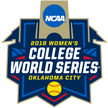 2018 Women's College World Series Logo