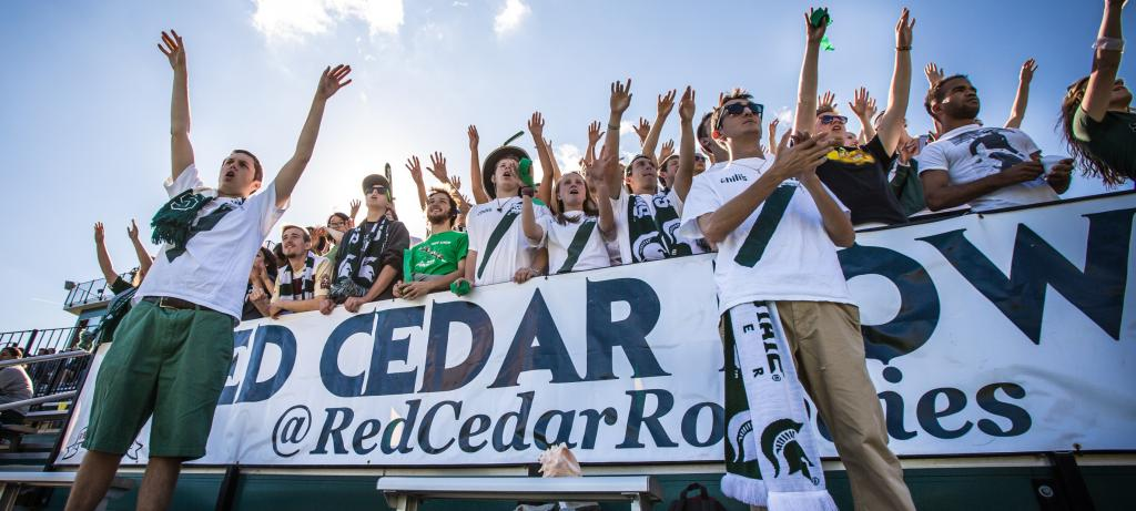 Michigan State's Red Cedar Rowdies