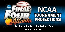 Men's Basketball NCAA Tournament Bracketology Projections