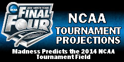 Men's College Basketball NCAA Tournament Bracketology