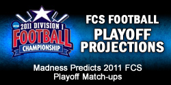FCS Football Playoff Projections