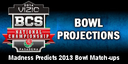 2013 College Football Bowl Projections